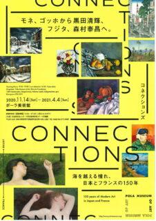 ポーラ美術館で開催『Connections―海を越える憧れ、日本とフランスの150年』